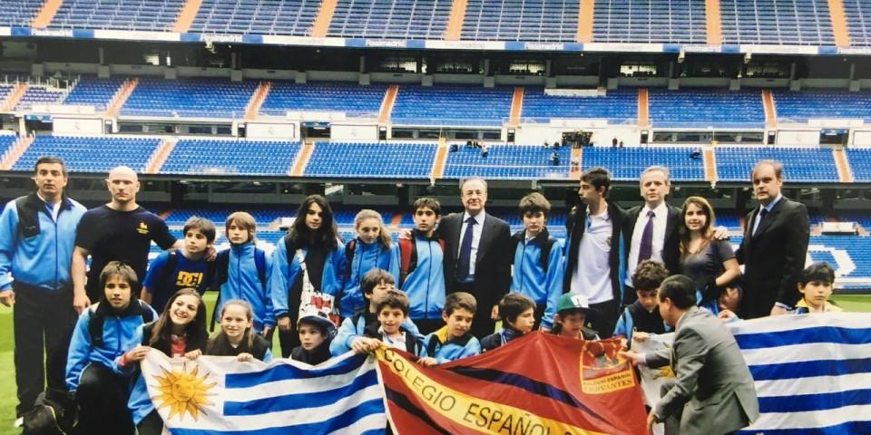 Viajamos a España invitados por el Real Madrid
