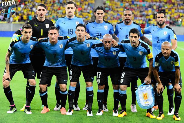 Nos visitan futbolistas de la Selección Uruguaya