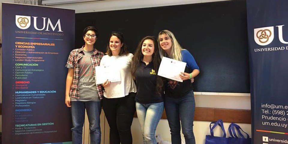 1er Premio en Consurso de traductorado (UM)
