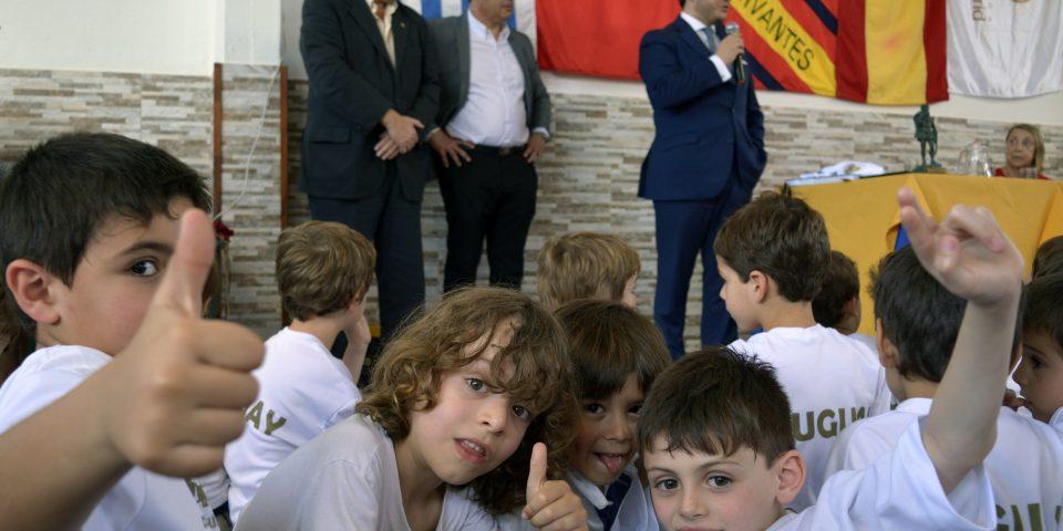 Nos visitó Mateo Figueroa de la Fundación Real Madrid