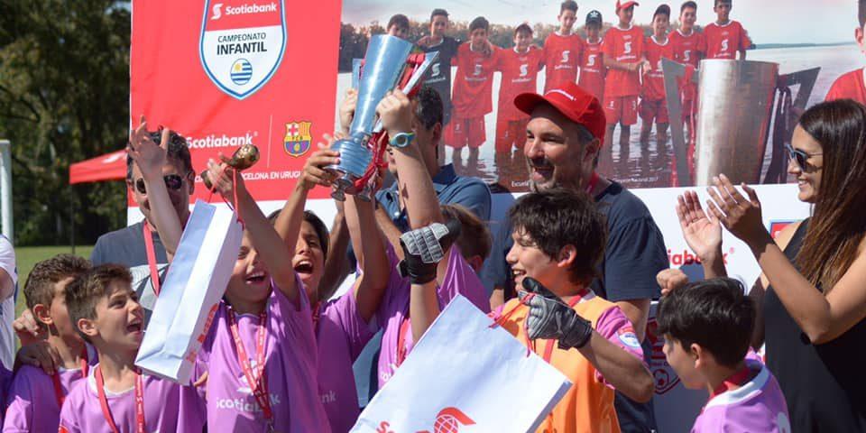 Campeonato de fútbol infantil «Scotiabank»