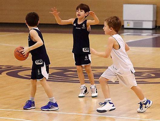 Baloncesto – Fundación Real Madrid.